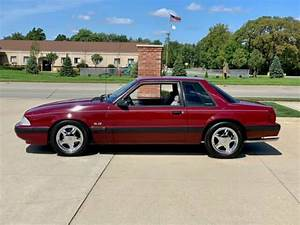 1989 Ford Mustang Lx 5 0 Coupe Burgundy Coupe