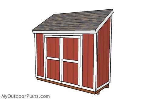 4 x 10 shed 4x10 shed plans myoutdoorplans free woodworking plans
