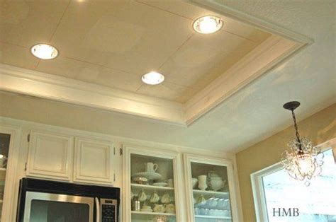 Replace fluorescent light box kitchen traditional with recessed. Heather Bullard:   Kitchen lighting, Lighting makeover, Kitchen lighting remodel