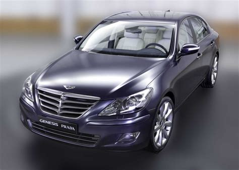Hyundai Genesis Prada Unveiled - autoevolution