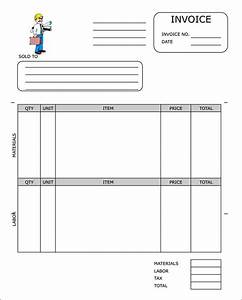 sample contractor invoice templates 14 free documents With free construction invoice forms