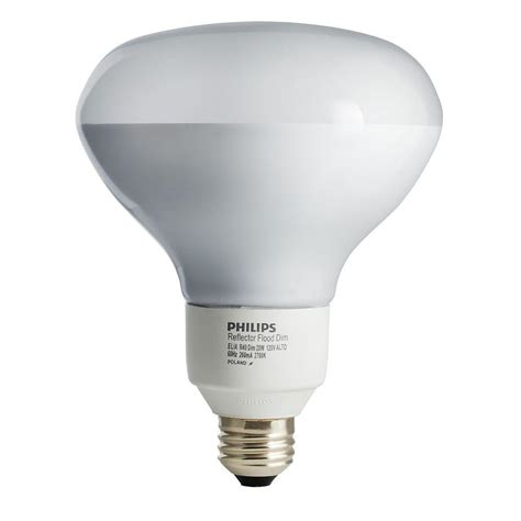 philips 85w equivalent soft white 2700k r40 dimmable cfl