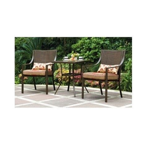 alexandra square 3 outdoor bistro set stripe