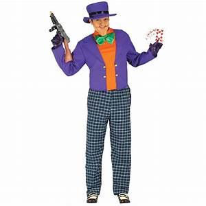 Deguisement Joker Enfant : crazy joker homme d guisement halloween f ezia ~ Preciouscoupons.com Idées de Décoration