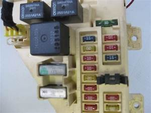 Chrysler Sebring 2002 Convertible Lxi Interior Fuse Box