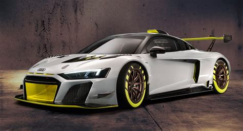 audi sport reveals new r8 lms gt2 as its more powerful customer race car carscoops