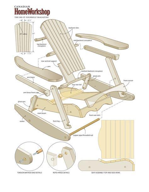 adirondack lawn chair woodworking plans wood shop plan