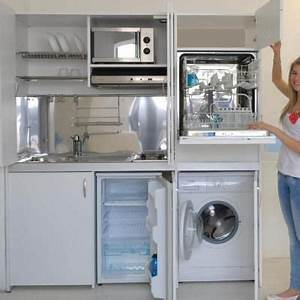Petit Lave Linge Pour Studio : armoire cuisine compact repr sent e en version avec lave ~ Carolinahurricanesstore.com Idées de Décoration