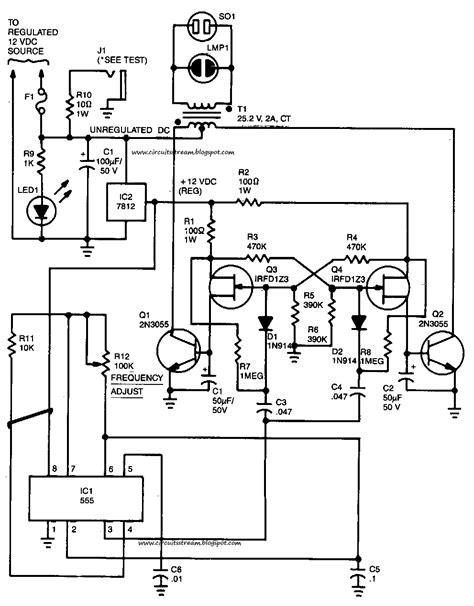 Build Power Inverter Circuit Diagram Electronic