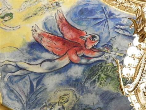 chagall plafond de l op 233 ra garnier