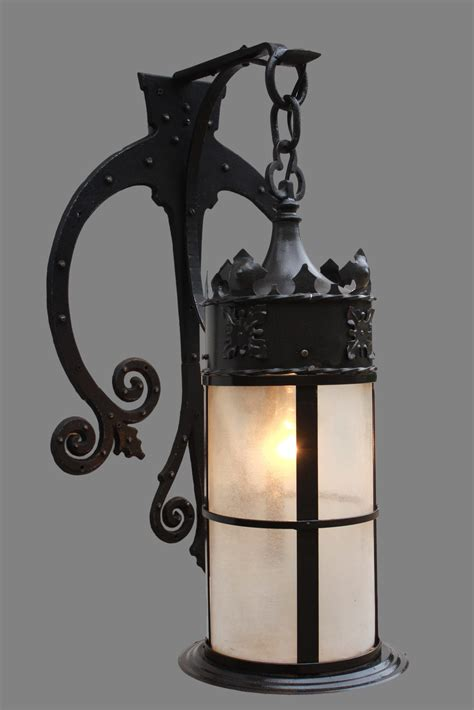 vintage iron wall sconce