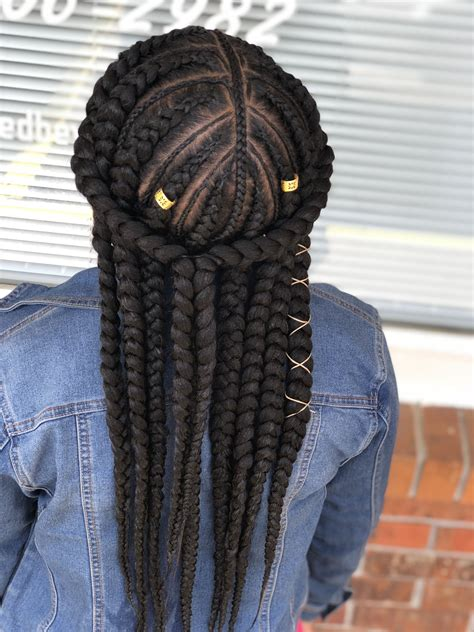 Hairstyles In Braids by Feed In Braids For More Pics Follow Me On Instagram