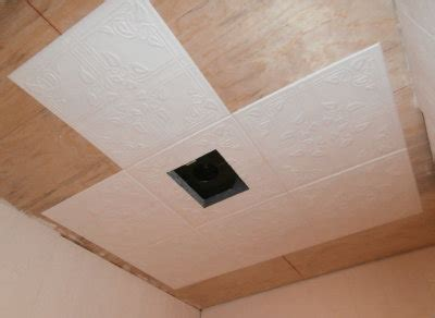 Styrofoam Ceiling Tiles Cheap by 5 Acres A New Bathroom Ceiling In Pictures