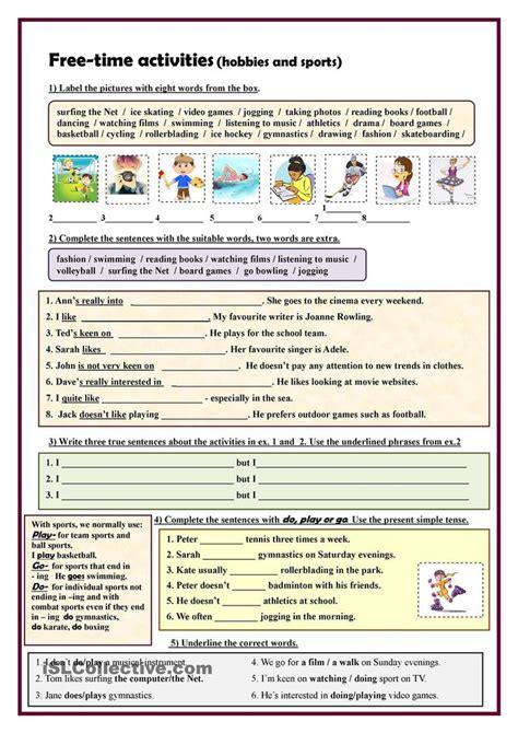 mesmerizing vocabulary exercises beginners