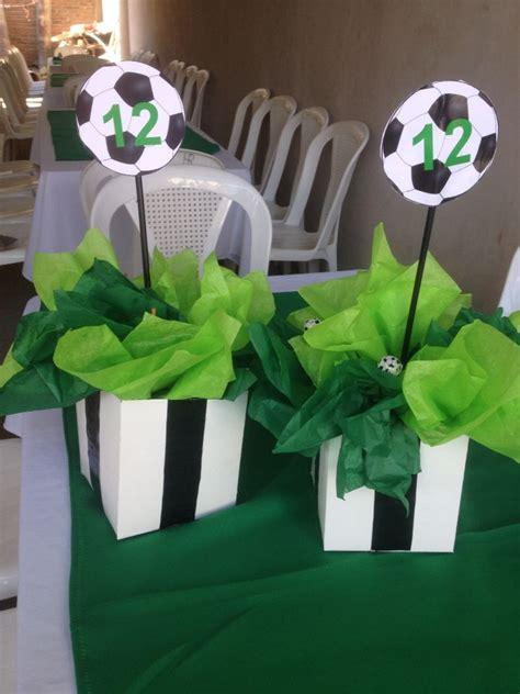 centerpiece soccer eventitos soccer theme parties