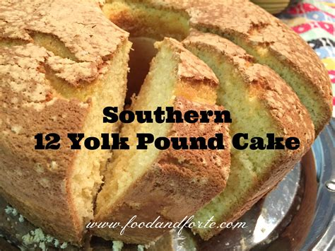 Until my flock was decimated in december by a neighbors dog. This Southern 12 Yolk Pound Cake is the perfect dessert to ...