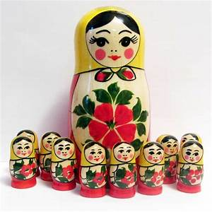 Matryoshka Counting Set - Russian Nesting Dolls