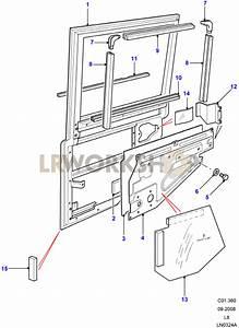 Rear Side Door Assembly