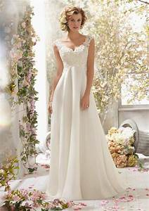 alencon lace on delicate chiffon detachable back cowl With cowl back wedding dress