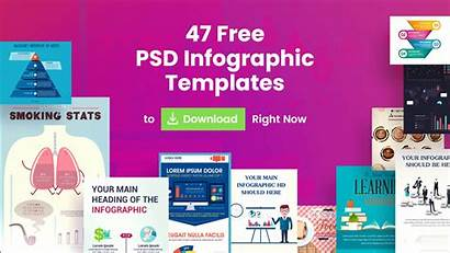 Infographic Templates Psd Template Poster Presentation Right