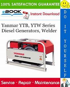 Yanmar Ytb  Ytw Series Diesel Generators  Welder Service