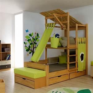 Bett Für Zwei Kinder : baumhaus bett von de breuyn bei ~ Sanjose-hotels-ca.com Haus und Dekorationen