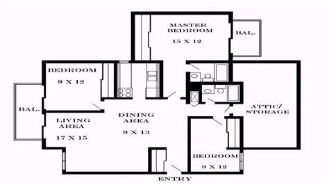 bedroom house floor plan dimensions youtube