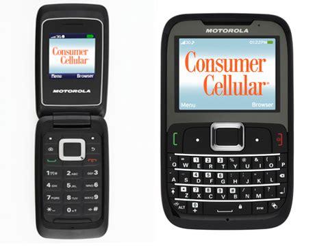 consumer cellular introduces  motorola cellphones