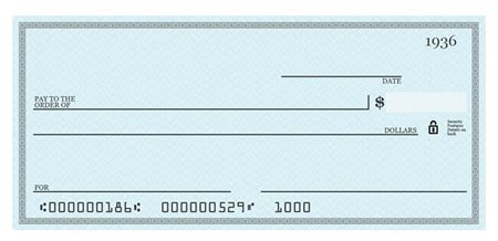 blank check templates for microsoft blank cheque template psd freepsdfile