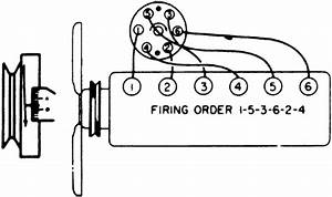 repair guides firing orders firing orders autozonecom With 1954 chevy truck wiring diagram further chevy 6 cylinder engine firing