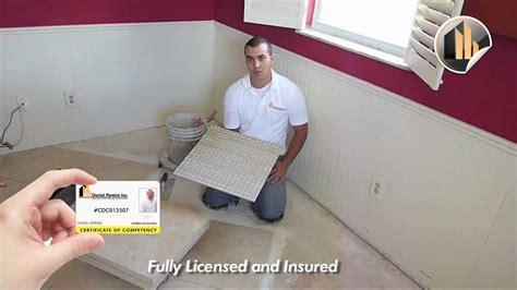 tile installer in porcelain tile installation tips and tricks ceramic tile
