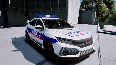 Honda Civic Type R Police Nationale