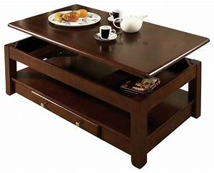 Dark wood lift top coffee table for Dark wood lift top coffee table