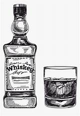 Whiskey Clipart Bottle Tennessee Kindpng sketch template