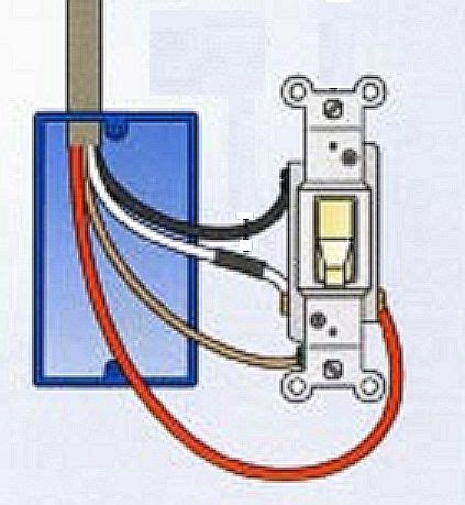 Where Connect The Red Wire Light Switch