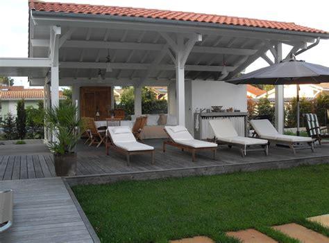 extension cuisine sur jardin extension cuisine d 39 été contemporain terrasse en