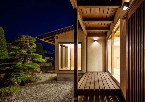 traditional japanese elements meet modern design   cocoon house
