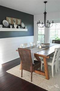 Farmhouse Table And Dining Room Makeover Interior Design