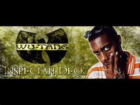 inspectah deck triumph best verse inspectah deck got my mind made up cut verse