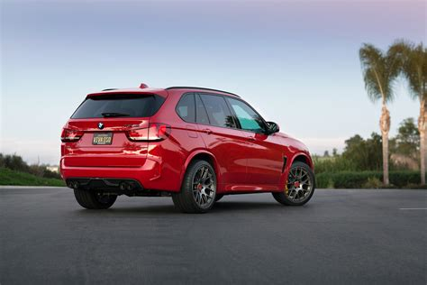 red bmw 2016 melbourne red bmw x5 m with aftermarket parts and wheels