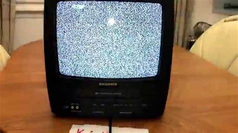 """Sylvania 6313CE 13"""" Portable TV/VCR Combo + Recording ..."""