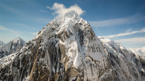Hd Snowy Mountain Wallpaper 4k Wallpaper Mountains Wallpapersafari
