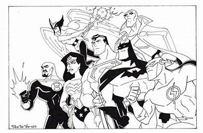 Justice League Coloring Pages Printable Animated Lego