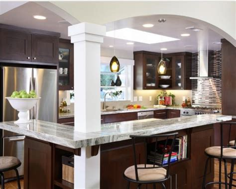 image result  opening  galley kitchen