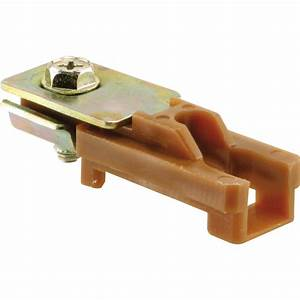 shop prime line bi fold door top pivot bracket at lowescom With bifold door track lowes