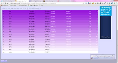 purple color code purple ombre hex codes http www herethere net samson