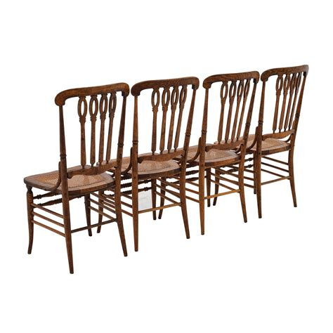 52 antique weaved wood dining chairs chairs