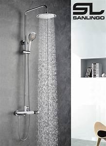 Douchette Salle De Bain : duschset duschsystem komplett dusche badewanne armatur ~ Edinachiropracticcenter.com Idées de Décoration