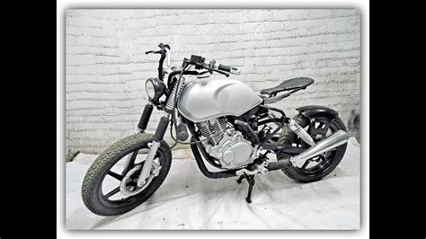 How To Build Classic Type Scrambler Motorcycle..