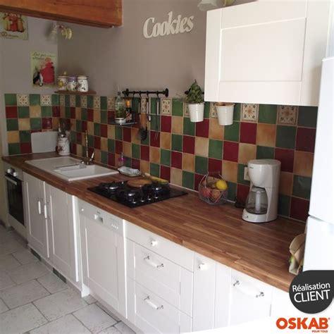 cuisine blanche plan de travail bois 44 best cuisine 2 images on deco cuisine